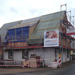 Umbau mit neuem Dachstuhl