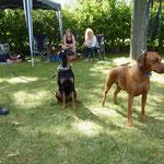 Tocher, Bella-Donna (kam extra aus Zwickau angereist) und Mama Onnie