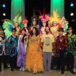 大津市民ホールにて サンバグループ ミストケンチさんのステージにボサノバでゲスト出演