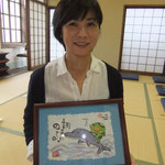 手描き「絵ことば」特別サイズ 京田辺 Ale'aleさま オープン2周年記念 ありがとうございます。