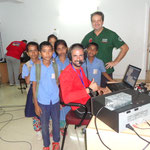 I2VGW - IZ5GST - Cildrens - During S21ZBB S21ZBC DX-Pedition 2013