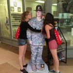 Netten Armyboy haben wir kennen gelernt...