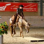 Manuela Witt mit MVA Paradise Vision Appaloosa Horse