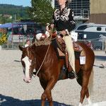 Anouk Bär mit ihrem QH Wallach BW Rony Sugar Canyon im W.Pleasure