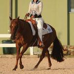 Jana Padovan mit ihrer QH Stute Be Paula Sunshine im Horsemanship