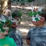 """Projekt""""Natürlich für Kinder"""" Workshop """"Achtung die Waldgeister kommen"""""""