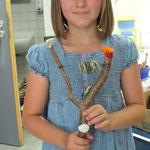 """Projekt """"Natürlich für Kinder"""" Workshop """"Musikinstrumente"""" Schule Wilhelmsthal"""