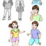 子供キャラクター