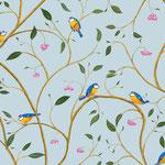 Birds - blue