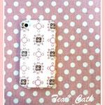 ピンクリボン♡iPhone4sケース