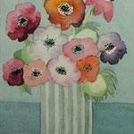Blumen IV (Aquarell)