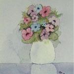 Blumen II (Aquarell)