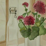 Fenster (Aquarell)