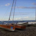 Boote bei Kühlungsborn