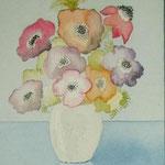 Blumen III (Aquarell)