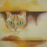 Cat (Aquarell)