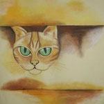 Cat (Aquarell)