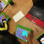 ICTスクールNEL,Pyonkee,プログラミング,iPadのセンサーを活用,