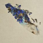 Vancouver Island, 50 x 70,gouache op linnen, privécollectie
