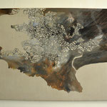La Baule, 65 x 105 cm, gouache op linnen
