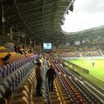 Die Borisov Arena von innen