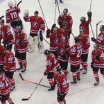 Team Canada bedankt sich für die Unterstützung