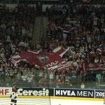 Kurz darauf aber freuten sich schon die lettischen Fans über den Ausgleich von Georgijs Pujacs