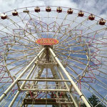 ...wo auch das große Riesenrad steht...