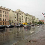 Der Himmel weinte, weil wir Minsk verlassen mussten