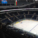 Die Minsk Arena von innen
