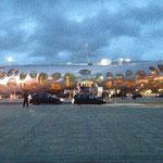 Die neu erbaute Borisov Arena