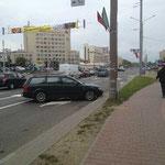 Parken auf weißrussisch :-)