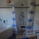 absolut behindertengerechte Badezimmer