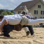Schlussgang gegen Lario Kramer (Bild: Rolf Eicher)