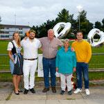 Mit meiner Familie am Empfang vom 24. August (Bild: Barbara Loosli)