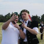 Selfie mit Fabian Staudenmann (Bild: Corinne Burren)