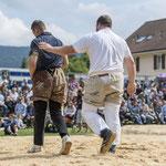Sieg gegen Lario Kramer (Bild: Rolf Eicher)