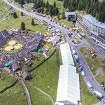 Die eindrückliche Arena am Fusse des Säntis (Bild: Werner Schaerer)