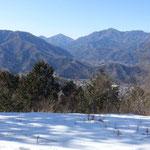 紺場休場、高川山と滝子山か?