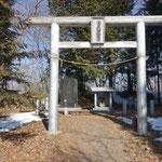 軍刀利山(神社)