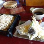 天ぷら蕎麦を注文