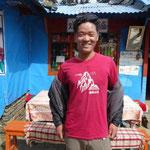 24日 途中で出会った、槍ヶ岳のTシャツ、5年間槍ヶ岳山荘等でアルバイト