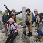 30日 薬師岳(2926m)山頂