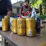 ビールはちょっと高級品