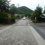 太平山を眺める