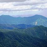百蔵山方面を眺める