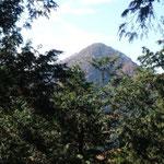 百蔵山が見えてきました