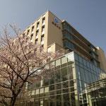新築の東邦大大橋病院