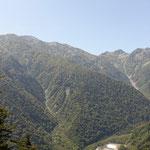 針ノ木岳と蓮華岳