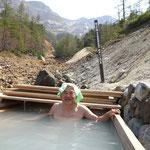 13:55 日本最高所の露天風呂